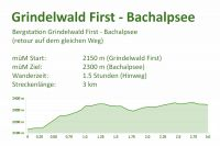 Grindelwald First - Bachalpsee